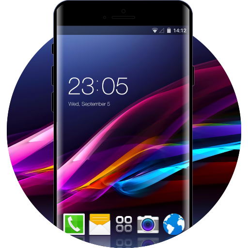 Sony Xperia Z Ultra Free Android Theme U Launcher