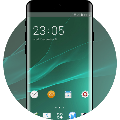 Sony Xperia Free Android Theme U Launcher