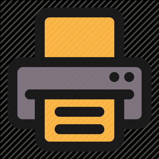 Basic, Interface, Periveral, Print, Printer, Ui Icon
