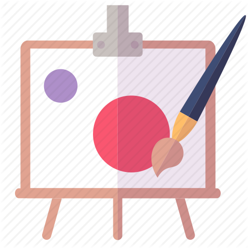 Art, Paint Brush, Painting Icon