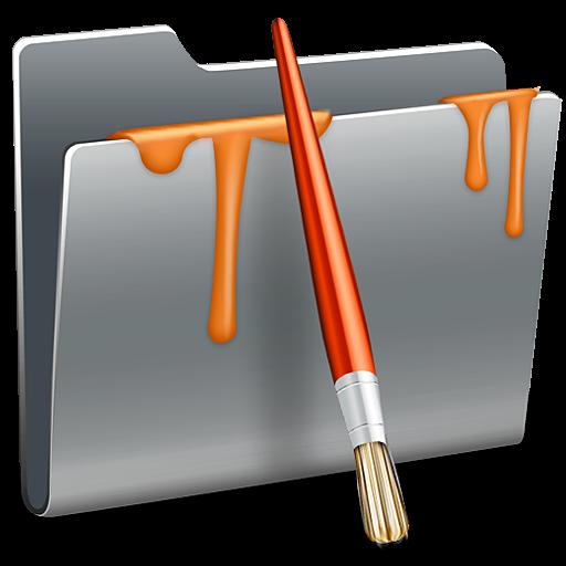 Paint, Folder, Painting, Draw Icon