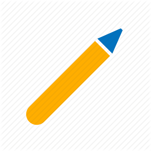 Crayon, Pen, Pencil Icon