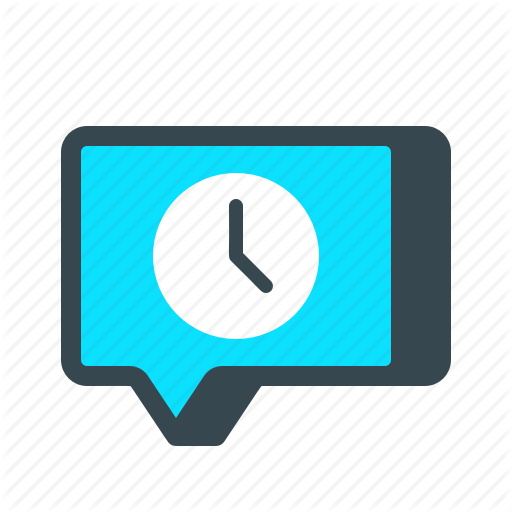 Chat, Message, Pending, Scheduled, Sms, Text, Timed Icon