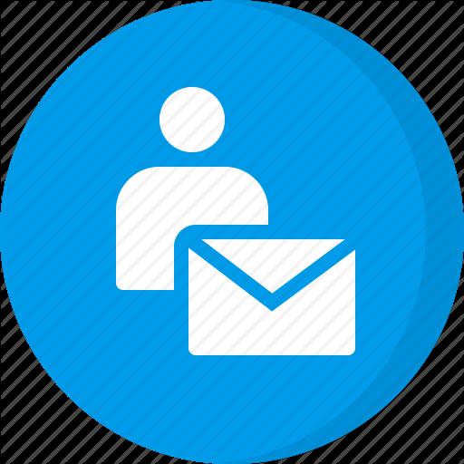 Email, Email User, Personal Email, Personal Mail, Private Message Icon