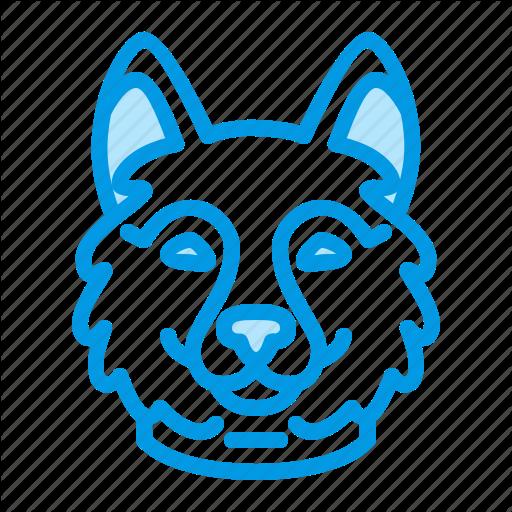Animal, Dog, Husky, Pet Icon