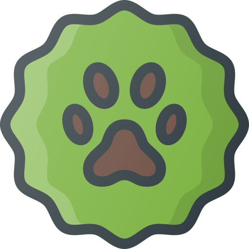 Pet, Animal, Pets, Badge, Sticker Icon Free Of Free Set Color Outline