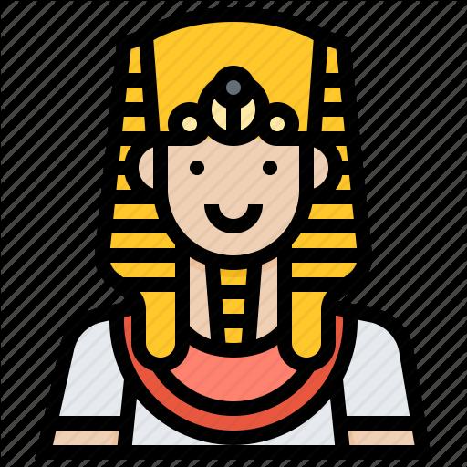Avatar, Egypt, Male, Man, Pharaoh Icon