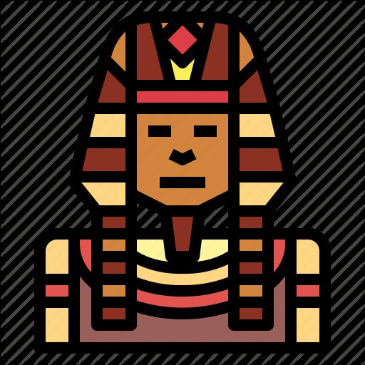 Cultures, Egyptian, Ethnic, Pharaoh Icon