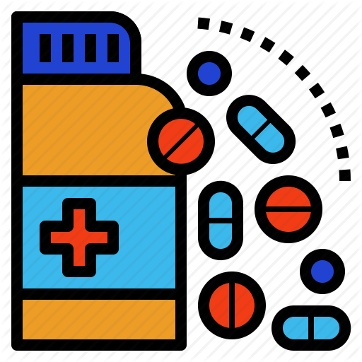 Drug, Indication, Medicine, Pharma, Pill, Treatment Icon