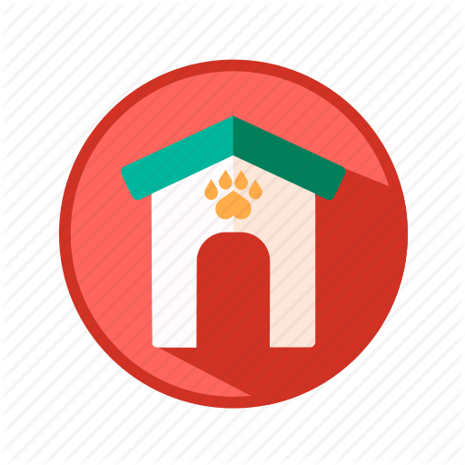 Animal, Booth, Dog, House, Pet, Puppy Icon