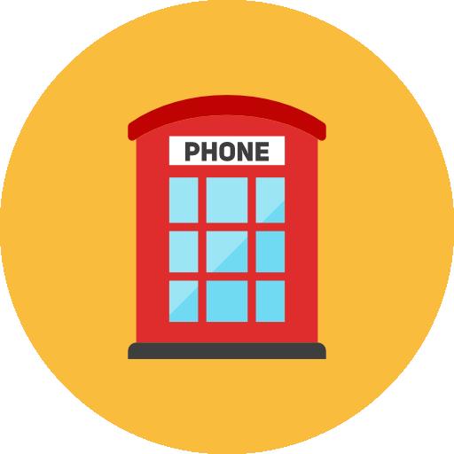 Phone Booth Icon Kameleon Iconset Webalys