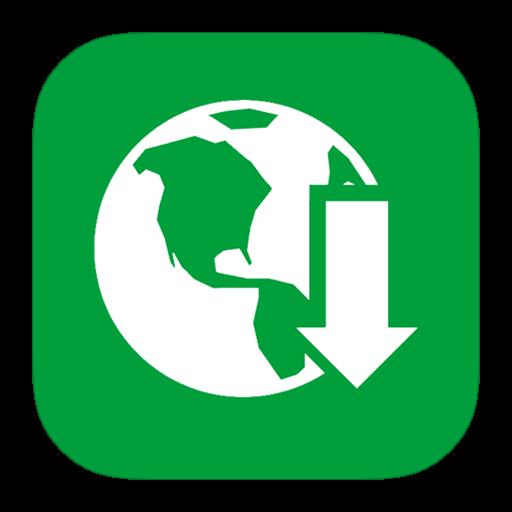 Metro, Internet Download Manager Icon Free Of Style Metro