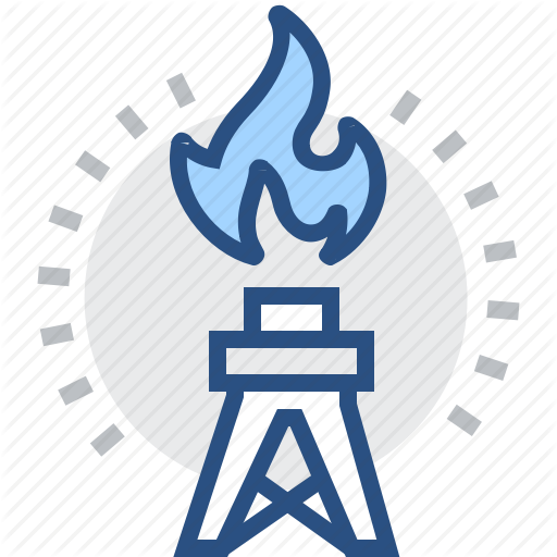 Boring, Drilling, Gas, Machine, Piercing, Rig, Technology Icon