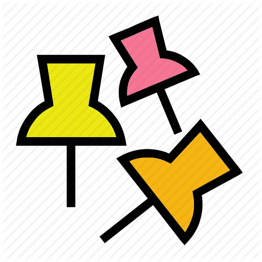 Document, Nail, Paper, Piercing, Stationary Icon