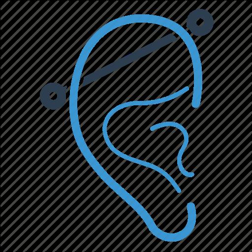 Ear, Hear, Listen, Piercing Icon