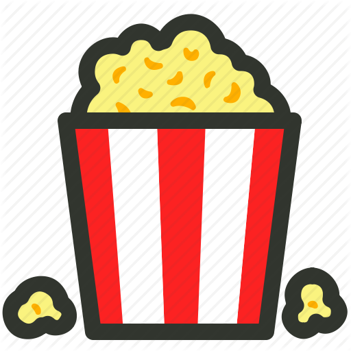 Cinema, Food, Movie, Popcorn, Snacks Icon