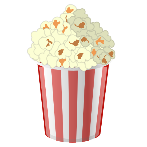 Popcorn, Food, Cinema Icon Free Of Noto Emoji Food Drink Icons