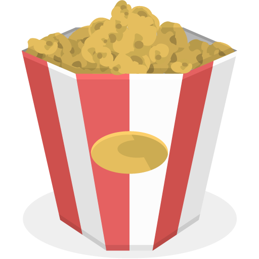 Popcorn Icon Cinema Iconset Ergosign
