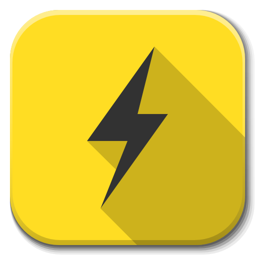 Apps Power B Icon Flatwoken Iconset Alecive