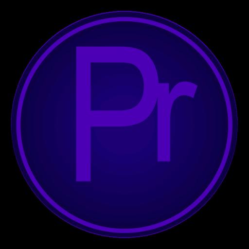 Adobe, Icon, Pr Icon