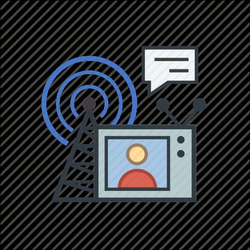 Communication, Media, Network, Pr, Press, Public, Relations Icon