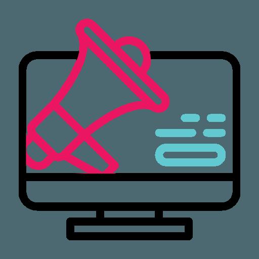 Digital Pr Icon