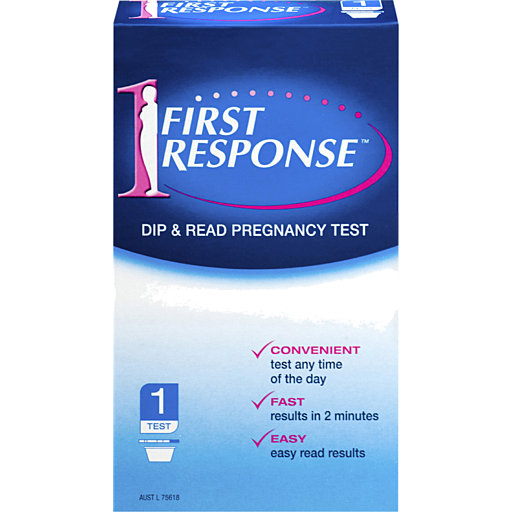 First Response Dip Read Pregnancy Test Pack