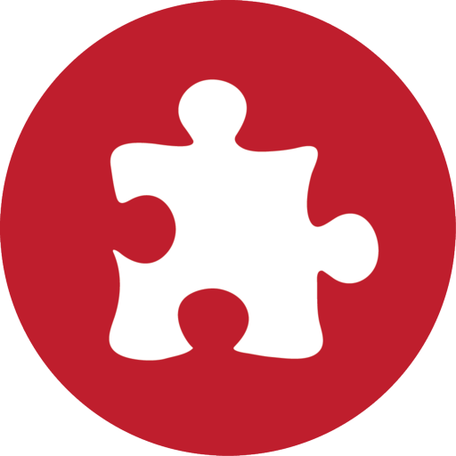 Puzzle Red Icon