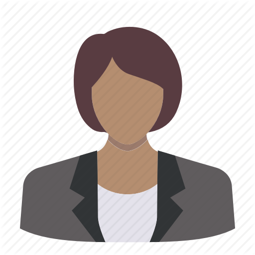 Avatar, Business, Corporate, Face, Head, Suit, Woman Icon
