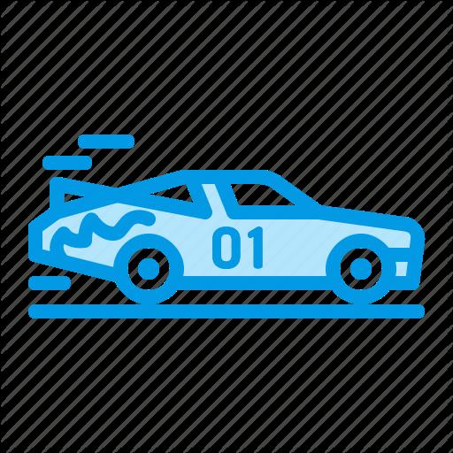 Car, Racing, Speed, Vehicle Icon