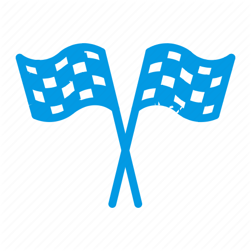 Checkered, Checkers, Flag, Race Icon
