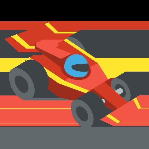 Racing Car Emoji Vector Icon Free Download Vector Logos Art