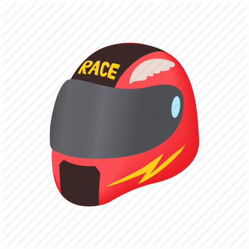 Bike, Cartoon, Helmet, Protection, Racing, Safety, Sport Icon