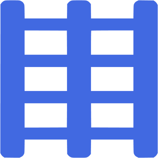 Royal Blue Rack Icon
