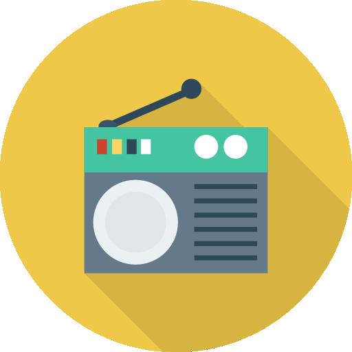 Radio Icon Network And Communications Dinosoftlabs