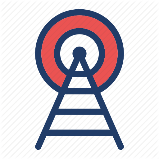 Broadcast, Communication, Network, Radio, Signal, Technology Icon