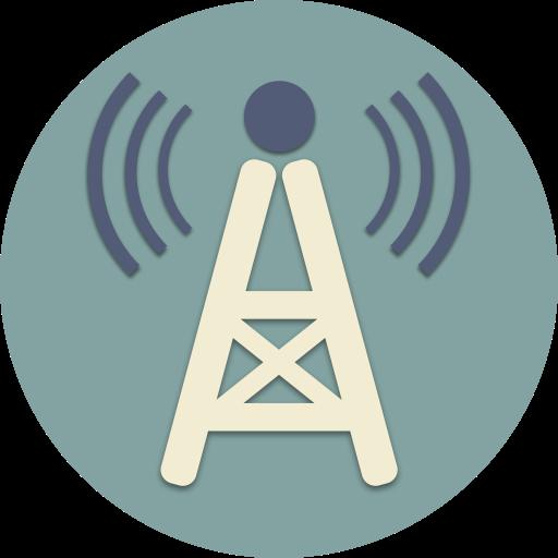 Internet, Music, Radio, Station, Tv, Waves, Wifi Icon