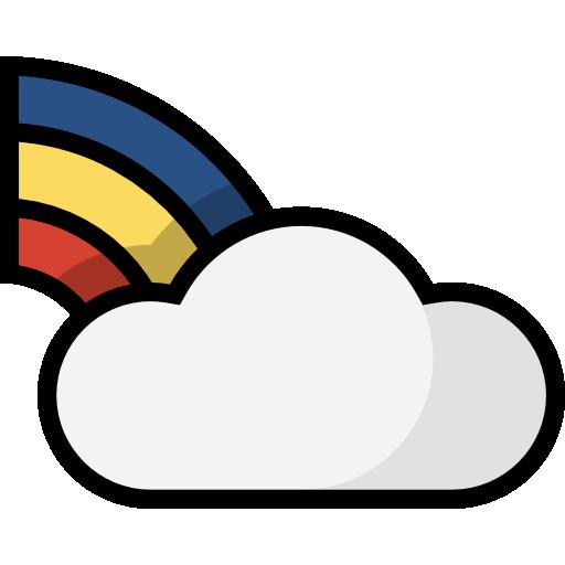 Rainbow Icon Weather Set Freepik