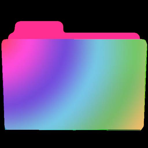 Rainbow Folder Icon