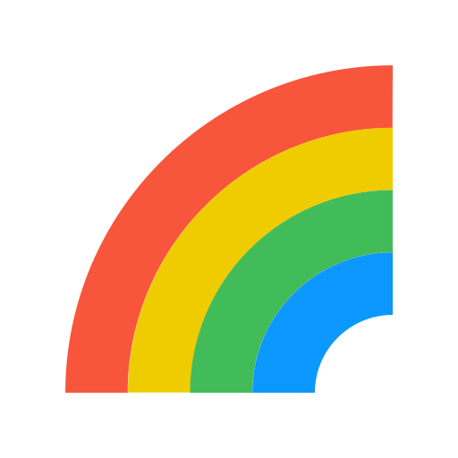 Weather, Rainbow Icon Free Of The Weather Is Nice Today