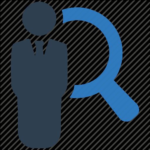 Job Search, Recruitment Icon