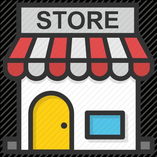 Market Store, Retail Shop, Shop, Shopping Store, Store Icon