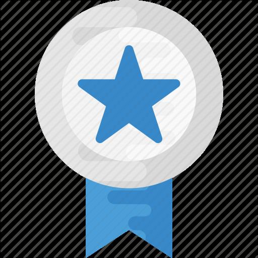 Award, Badge, Reward, Ribbon Badge, Star Badge Icon