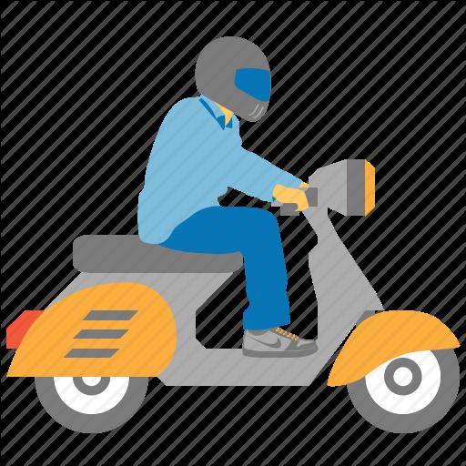 Bike Courier, Biker, Chopper, Motorbike, Motorcycle, Rider