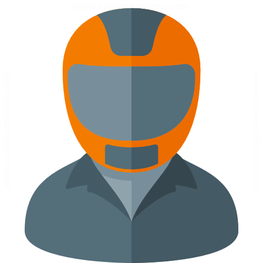 Iconexperience G Collection Motorcyclist Icon