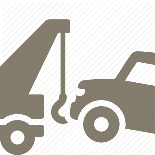 Auto Insurance, Car Tow, Transport, Truck Icon