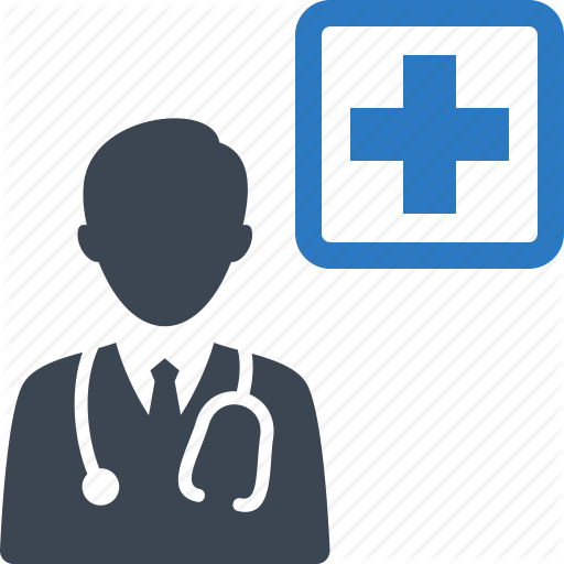 Doctor, Medical Coverage, Medical Help Icon