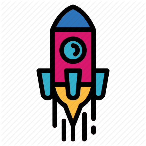 Rocket, Ship, Space, Transport Icon