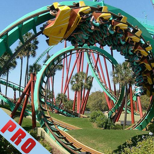 Ride The Roller Coaster Jungle Amusement Park Pro