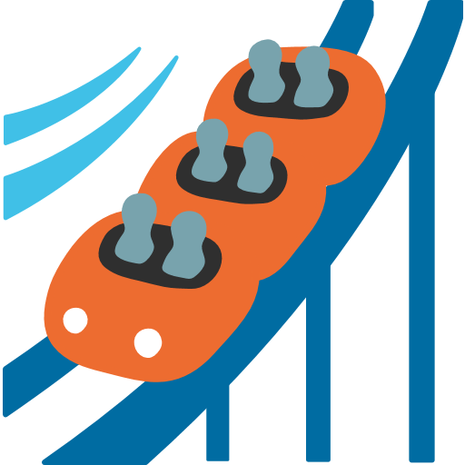 Roller Coaster Emoji For Facebook, Email Sms Id Emoji
